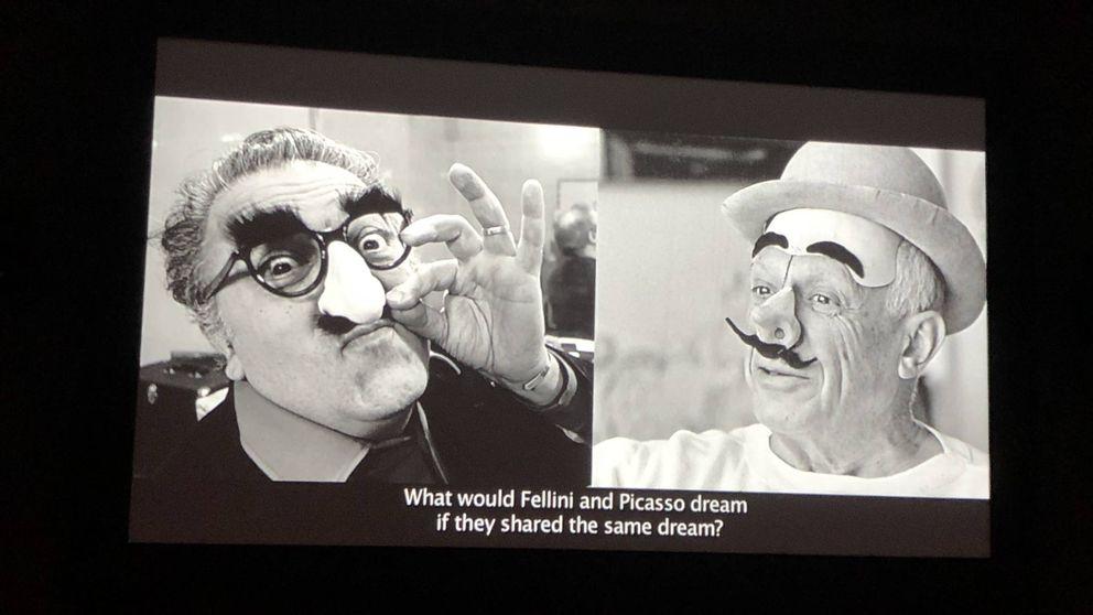Fellini y Picasso: cuatro sueños y todas sus obsesiones