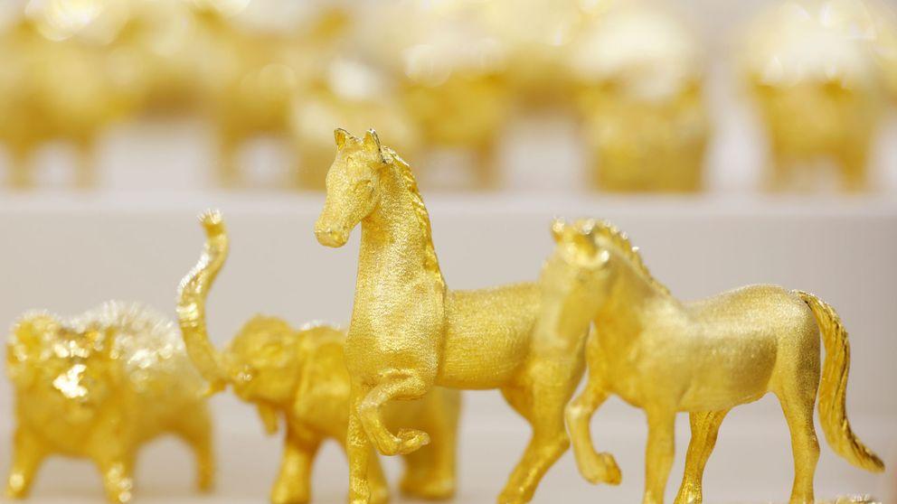 Los fondos de oro superan al metal rey en 2020 pero suspenden a largo plazo
