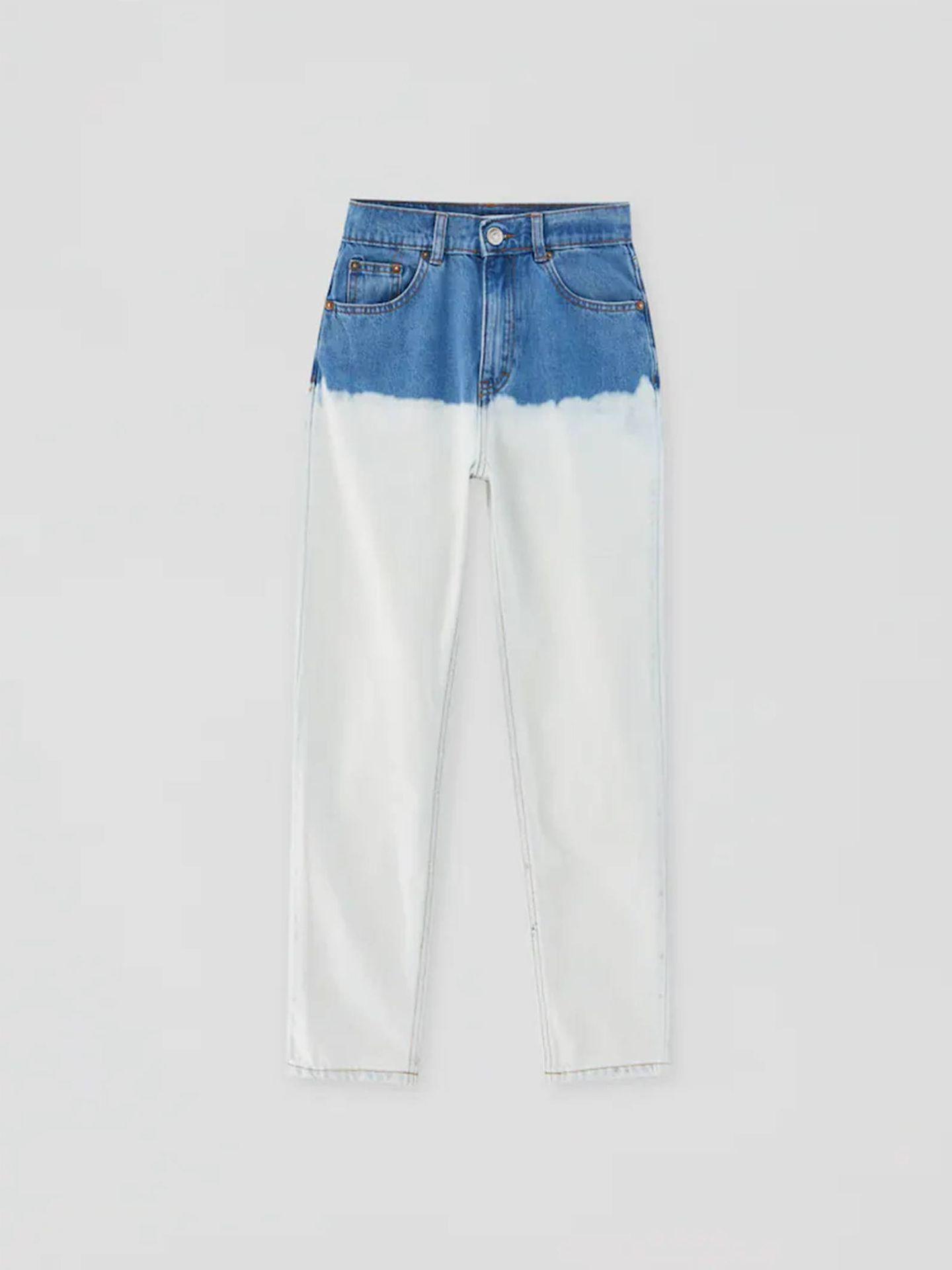 Pantalones vaqueros de Pull and Bear. (Cortesía)