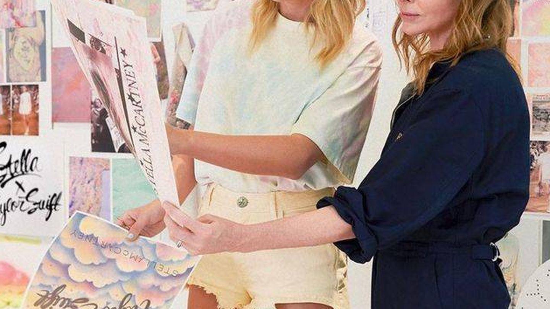 Taylor Swift y Stella McCartney.