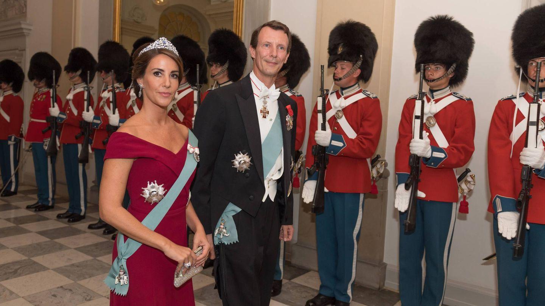 La princesa Marie con su nueva tiara. (CP)
