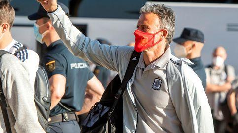 Llegada de la Selección a Sevilla