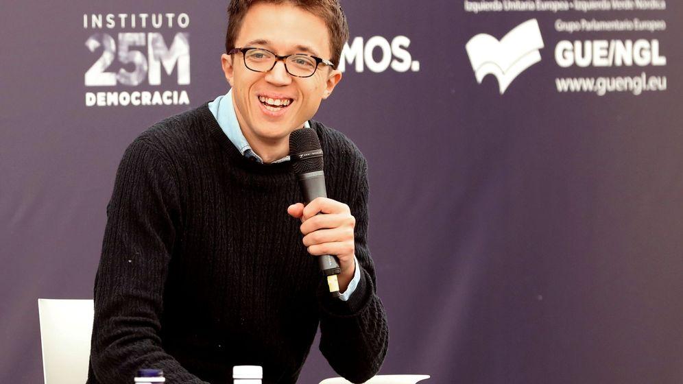 Foto: El candidato de Podemos a la Presidencia de la Comunidad de Madrid, Íñigo Errejón. (EFE)