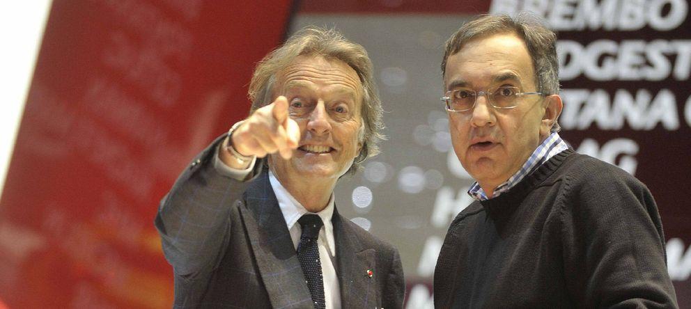 Foto: Montezemolo (i) y Sergio Marchionne.