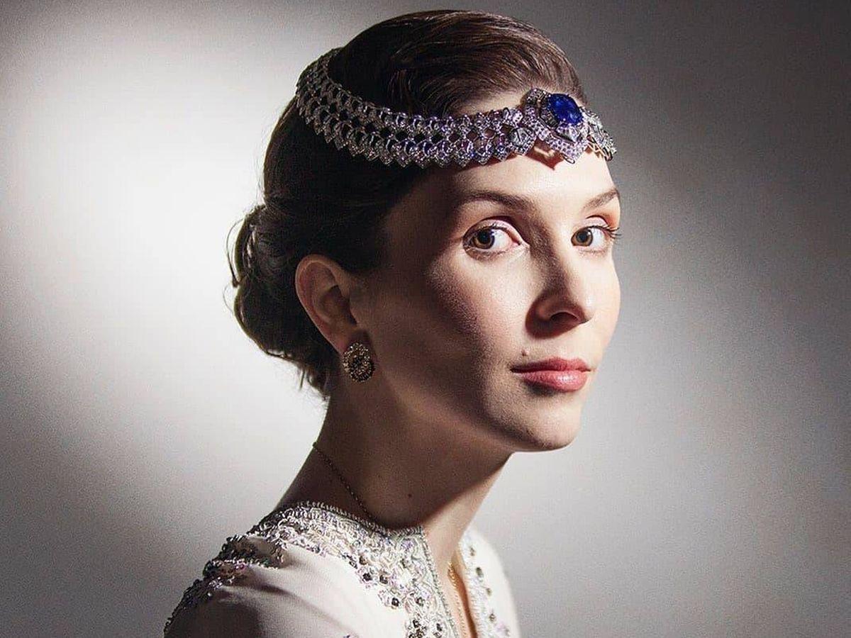 Foto: La princesa Raiyah, el día de su vida. (Redes sociales)
