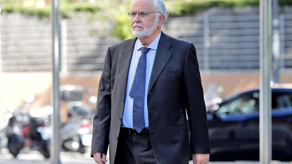Foto: Juan Cotino, expresidente de las Cortes Valencianas. (EFE)