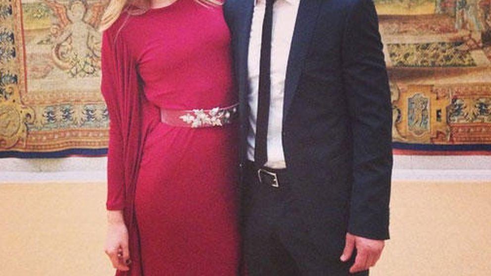 Twitter- La romántica felicitación de Carla Pereyra a Diego Simeone