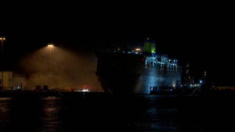 Caos en un ferry en Grecia por un incendio
