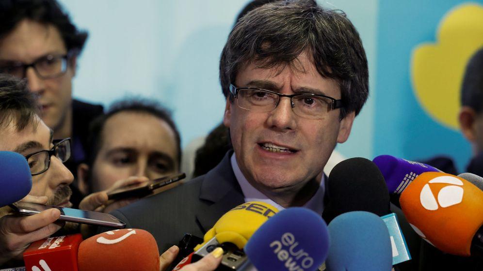 Foto: El expresidente de la Generalitat Carles Puigdemont en una imagen del pasado enero. (Reuters)