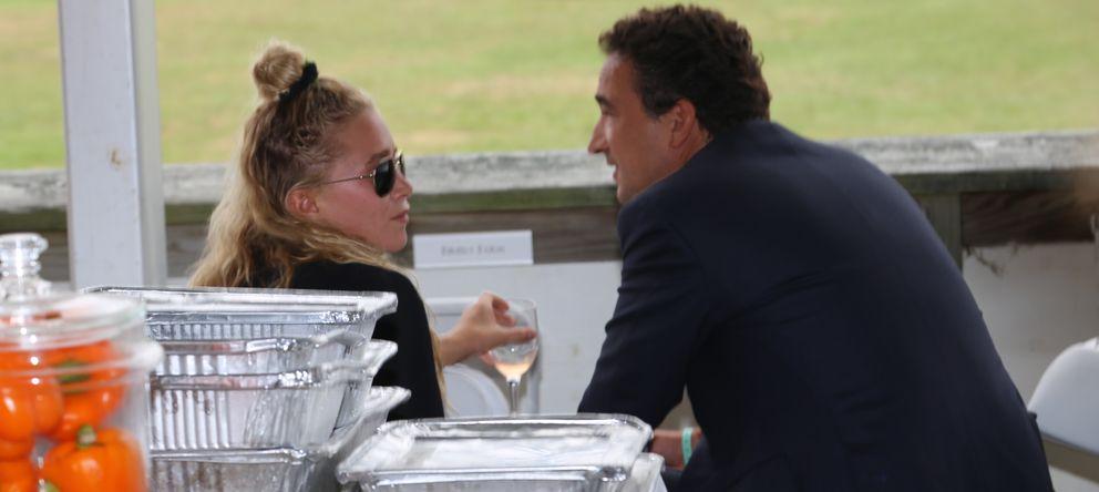 Foto: Mary Kate Olsen y Olivier Sarkozy en una imagen de archivo (I. C)