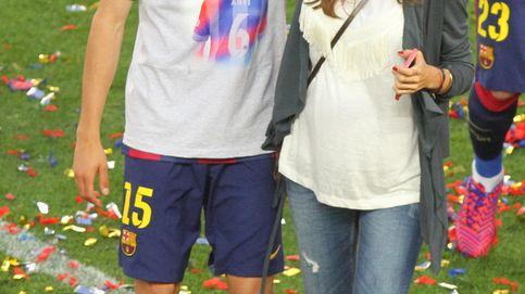 Melissa Jiménez y Bartra, felices con la primera vez de Gala en el Camp Nou