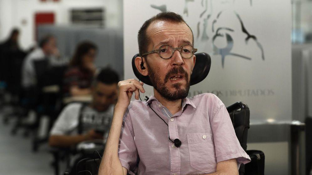 Foto: El secretario de Acción de Gobierno de Podemos Pablo Echenique. (EFE)