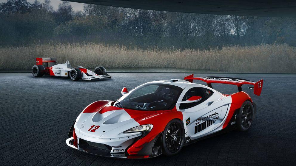 Así es el exclusivo McLaren de un millonario en homenaje a Ayrton Senna