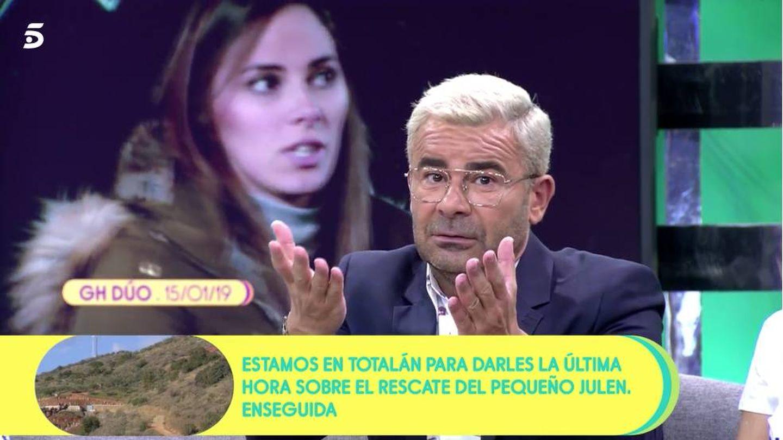 Jorge Javier Vázquez, en 'Sálvame'. (Mediaset)