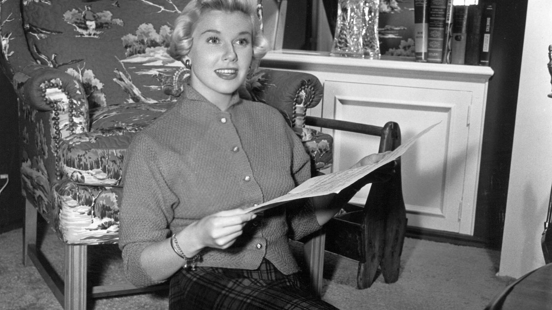 La actriz, en los años 50. (Cordon Press)