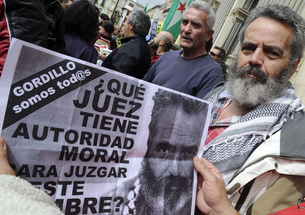 Foto: El exparlamentario andaluz de IU Juan Manuel Sánchez Gordillo