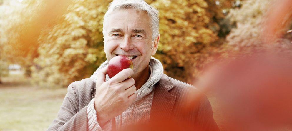 Foto: La manzana es una extraordinaria fuente de antioxidantes, gracias a los polifenoles. (Corbis)