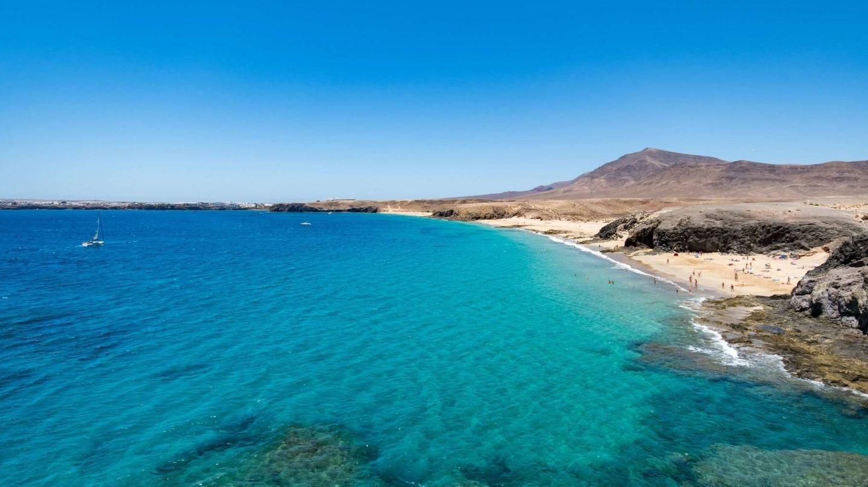 Playa del Papagayo. (Turismo Lanzarote)