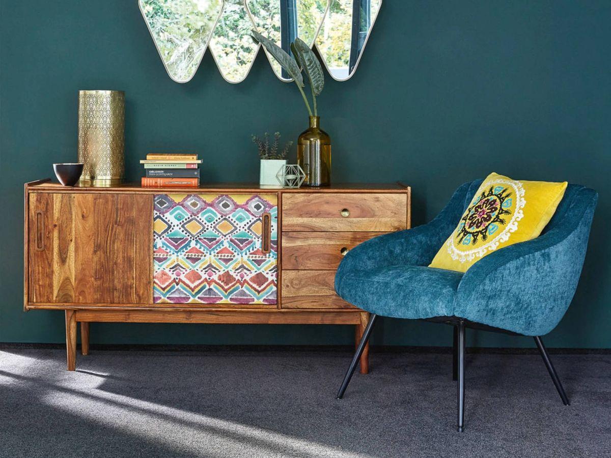 Foto: Sillones de Maisons du Monde llenos de color para tu salón. (Cortesía)