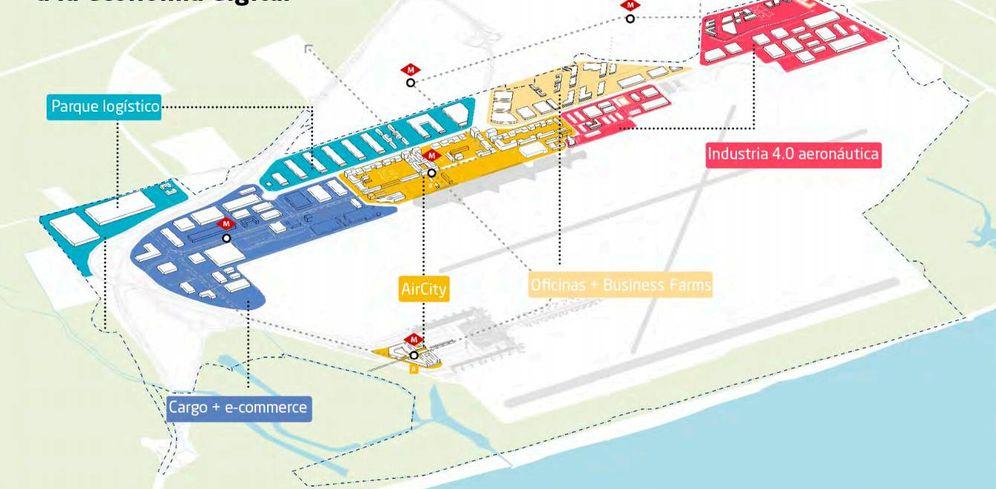 Foto: Fomento desarrollará un gran centro empresarial y logístico en El Prat.