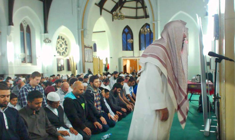Foto: El interior de la mezquita de Didsbury, en Mánchester.