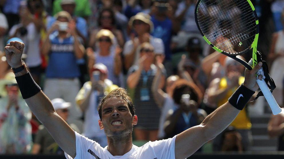 Nadal gana a Mayer en su debut: El cuerpo está bien, esa es la clave