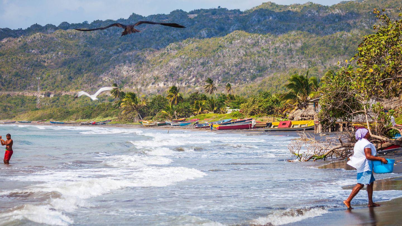 La costa del Caribe.