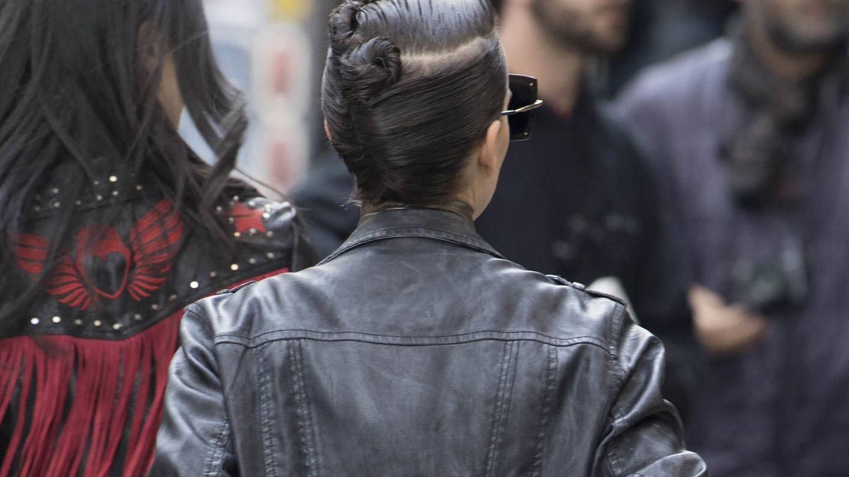 Peinado por detrás de Natalie Portman en 'Vox Lux'. (Gtres)