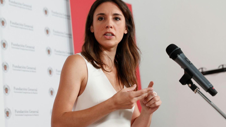 La ministra de Igualdad, Irene Montero. (EFE)