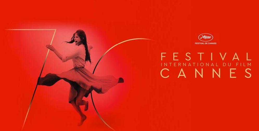 Foto: Imagen del cartel del 70 Festival de Cannes