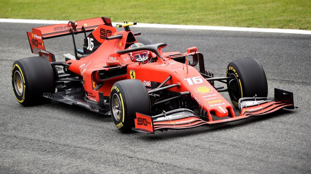 Foto: Charles Leclerc fue el más rápido este viernes en Monza. (Reuters)