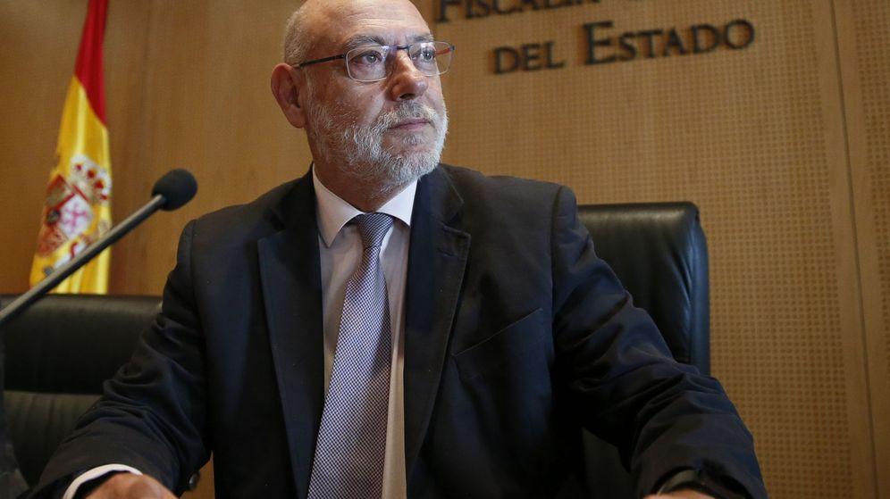 Foto: Fotografía del fiscal general del Estado José Manuel Maza. (EFE)