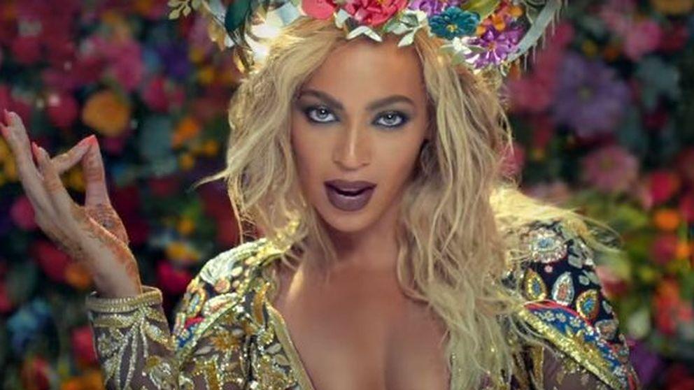 Beyoncé se convierte en una diosa hindú en lo último de Coldplay