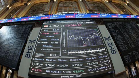 El Ibex aparca el amago de rebote con las ventas de Wall Street pese a la Fed
