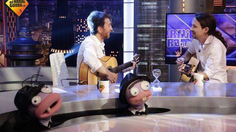 Pablo Iglesias, guitarra en mano, revienta 'El hormiguero'
