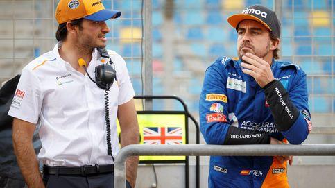 Zak Brown habla sobre Fernando Alonso y Carlos Sainz: Nunca he visto esa reputación