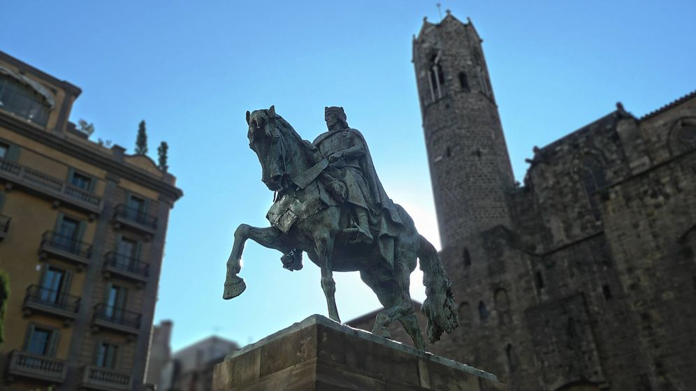 Foto: Monumento a Ramón Berenguer en Barcelona. (Wikimedia Commons)