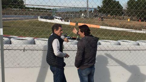 Con De la Rosa a pie de pista: Es que Fernando es muy bueno, el cabrón...