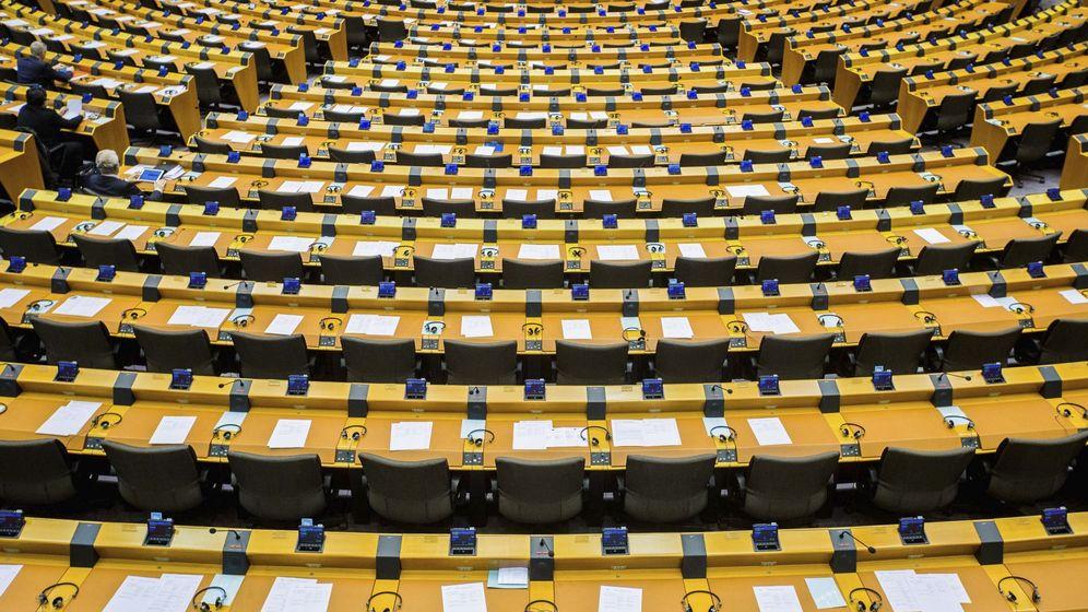 Foto: Cámara del Parlamento Europeo. (EFE)