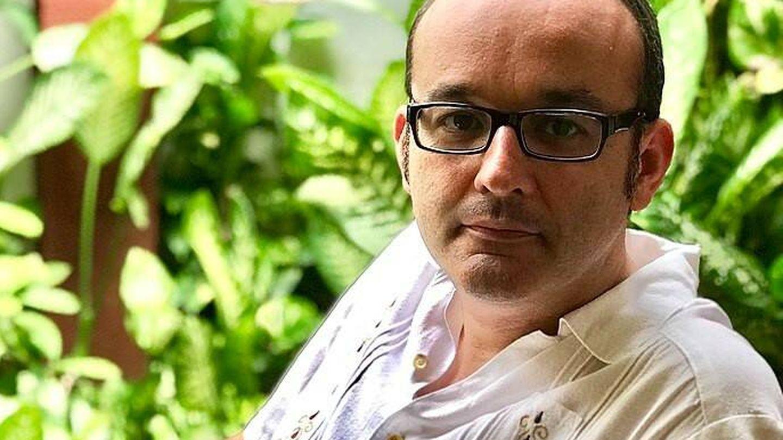 Juan Carlos Abril, autor del ensayo 'Panorama para leer. Un diagnóstico de la poesía española' (2020)