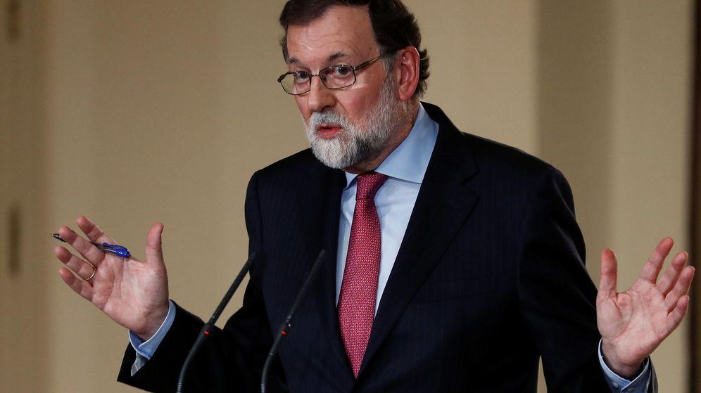 Foto: Mariano Rajoy, en su rueda de prensa del viernes. (EFE)