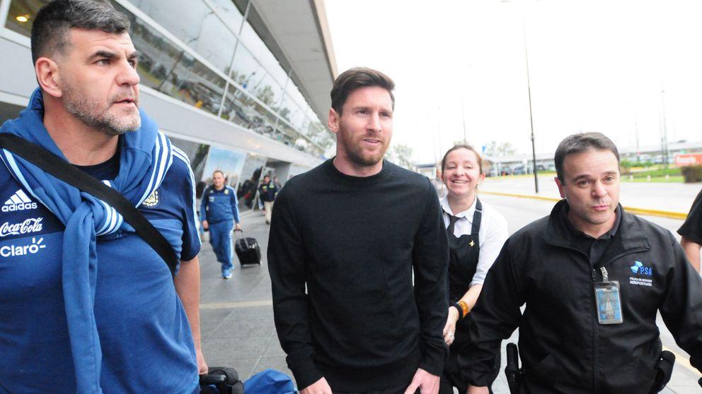 Messi, al banquillo de los acusados... ¿al grito de 'campeón' y 'presidente'?