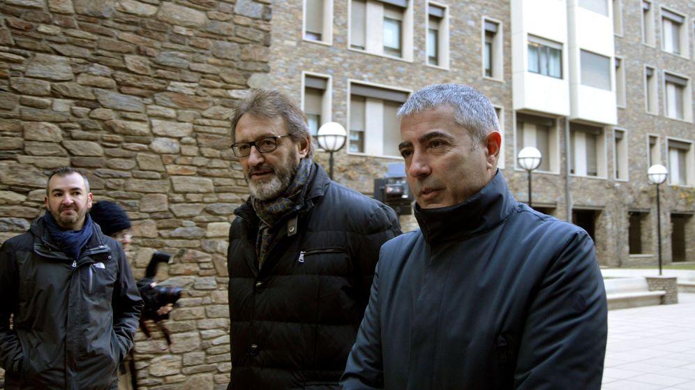 Foto: Higini Cierco y el exconsejero delegado, Joan Pau Miquel en una imagen de archivo. (EFE)
