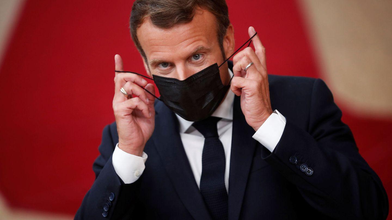 El presidente francés, Emmanuel Macron. (EFE)
