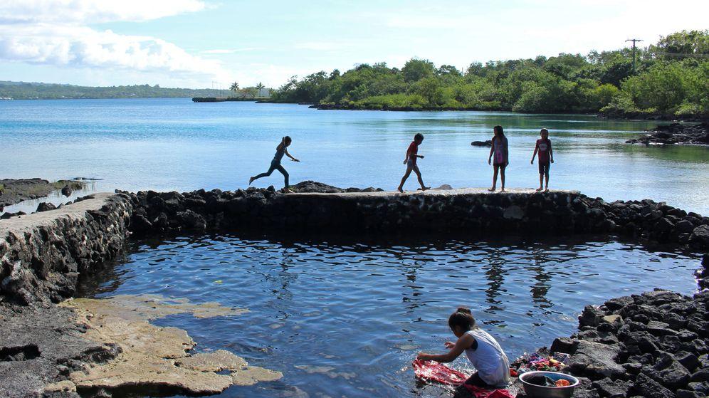 Foto: La isla de Savaioi, en Samoa, en una imagen de archivo. (Reuters)