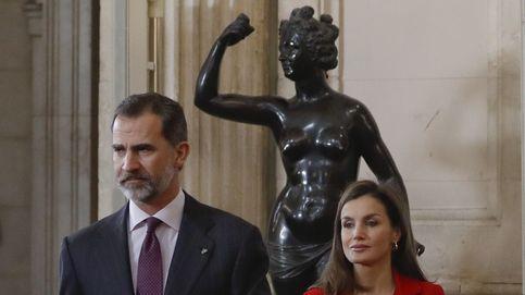 Los Reyes cierran el año de conmemoración del centenario de la muerte de Cervantes