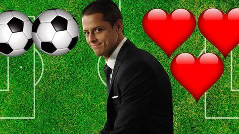 Chicharito anota más novias (3) que goles ha marcado este año (2)