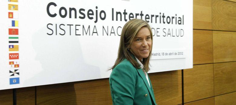 Foto: Ana Mato, ministra de Sanidad (EFE)
