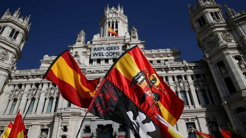 Conferencia de Puigdemont en el Palacio de Cibeles, en imágenes