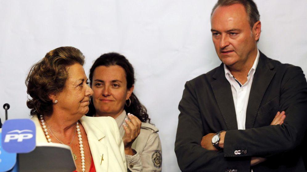 Foto: Rita Barberá y Alberto Fabra. (EFE)